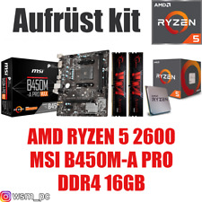 PC Bundle Kit Set ❤ AMD Ryzen 5 2600 ✔ B450 Mainboard ✔ DDR4 16GB 3000 ✔