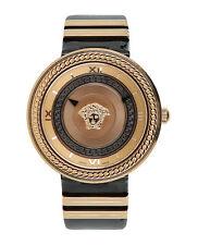 Versace женские V-металлический значок часы velc 00318