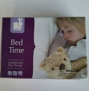 Janod Bed Time Play Therapy Game Music CD Calming 3+ Years Juratoys Tokens Cards