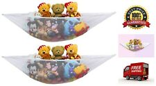 2 Pack Stuffed Animal Jumbo Toy Storage Hammock with the Hook Hardware Included