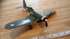 CHANCE VOUGHT F4U CORSAIR 1/48 SCALE BUILT SPARES OR REPAIR PARTS MISSING