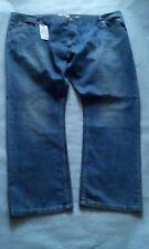 Men's Lambretta stone wash 52 inch jeans