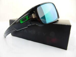 Oakley CRANKSHAFT Sunglasses Black Ink - Jade Iridium Lens 9239-02