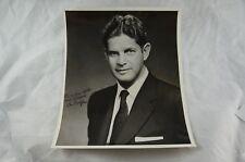 Rare signed photo: Louis Wolfson - Corporate raider, Wall Street, Horse Racing