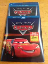 Disney/Pixar Cars (Blu-ray/DVD,2-Disc+Digital)NEW Authentic Disney US RELEASE