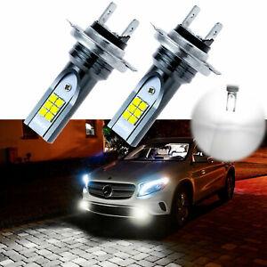 Super Bright 100W Xenon White H7 12SMD LED Bulbs For Mercedes-Benz Fog Lights