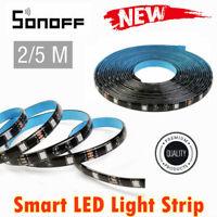 SONOFF Smart LED Light Strip Dimmable Waterproof WiFi Flexible RGB Strip Lights