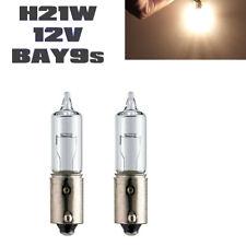 2x Jurmann H21W 12V BAY9s Klar Standard Bremslicht Rücklicht Halogen Lampen
