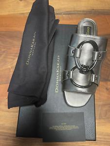 Donna Karan New York Dkny Rae Slides Slip On Sandals Shoes Mules New 36