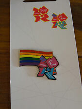 LONDON 2012 PIN BADGE GAY PRIDE DIVERSITY RAINBOW PARALYMPICS OLYMPICS Rio 2016