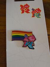 London 2012 pin badge Gay Pride Arcobaleno diversità PARAOLIMPICI OLIMPIADI RIO 2016