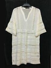 Antik Batik white linen tunic dress