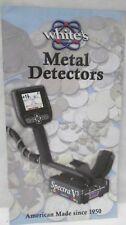 Whites Metal Detectors Sales Brochure May 2006 Spectra V3 DFX MXT Prizm M6 GMT