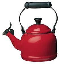 Le Creuset Traditional Whistling Stove Top Kettle 1.1L Red/Cerise/Cherry BNWT
