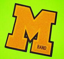 "Letterman Varsity Letter ""M"" Band High School College large"