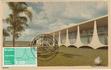 Maximum Card 1960 Brazil architecture Brasilia