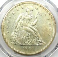1860-O Seated Liberty Silver Dollar $1 - Certified PCGS MS60 (UNC) - $2250 Value