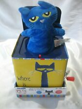 PETE THE CAT JACK IN THE BOX MUSICAL TOY FOR BABIES BRAND NEW IN BOX