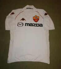 AS ROMA ITALY #10 TOTTI 2002/2003 AWAY FOOTBALL SHIRT L SIZE MAZDA KAPPA