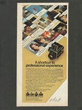 HASSELBLAD Camera - A shortcut to professional experience -1980 Vintage Print Ad
