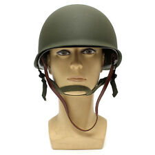 WW2 USA Military Steel ABS M1 Helmet With Netting Cover WWII Army Equipment New