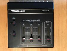 Mischpult Wetekom Stereo Sound Mixer AV 100