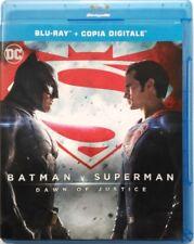 Blu-ray Batman v Superman - Dawn of Justice di Zack Snyder 2016 Usato