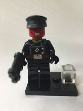 Red Skull Minifig Marvel Movie Captain America Black Leg HYDRA Tesseract Nazi