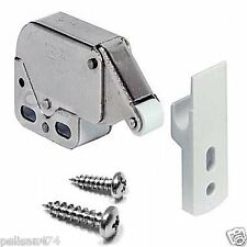 2 Push To Open Touch Release Cabinet Cupboard Kitchen Catch Latch Pressure QUICK
