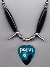 Pierce The Veil Band Guitar Pick Necklace