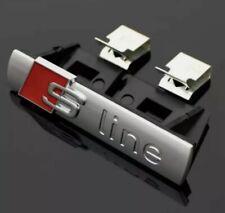 Logo S LINE Calandre Emblème Logo SLINE Silver Mate