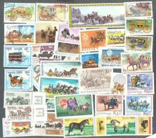 Coaches & Carriages 100 all different stamp  collection