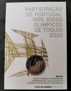 PORTUGAL !! BU 2 euro commémo 2021 !! JO de Tokyo !! NEUF
