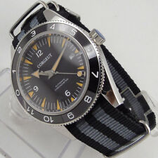 41mm CORGEUT Black Dial Sapphire Glass miyota 821A Automatic Movement mens Watch