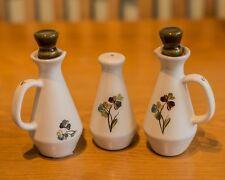 Denby Salt/Oil/Vinegar Cruet Set