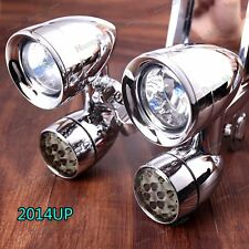 Fairing Mounted Driving Lights&LED Turn Signals For Harley Street Glide 14-17