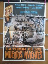 3832            la Tumba De Los Muertos Vivientes Zombies Jesús Franco