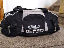Roper Apparel & Footwear Black Duffle Gym Travel Bag