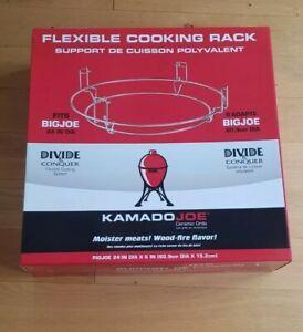 "Kamado Joe Flexible Cooking Rack - Big Joe 24""/60.9cm.  Divide & Conquer System"