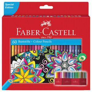 Faber Castell Premium Color Pencils, 60 color