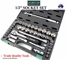 "HONITON 1/2"" SOCKET SET DIN GERMAN STANDARDS TRADE QUALITY TOOLS SOCKETS SPECIAL"