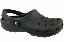 Crocs Classic Clogs- Black, Size 6 Men/ 7 Women