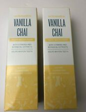 Lot of 2 Schmidt's Vanilla Chai Toothpaste W/ Vitamins & Extracts 4.7 Oz EACH