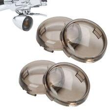4pcs Turn Signal Light Lens Cover Visor for Scooter Harley 883 1986-2015 Blinker