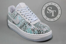 NIKE WOMEN'S W AIR FORCE ONE AF1 UPSTEP 35 917589-500 GLASS SLIPPER DS SIZE: 8