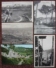 5x Vintage early 1900's Fiesole Postcard Firenze Florence Tuscany Italia Italy