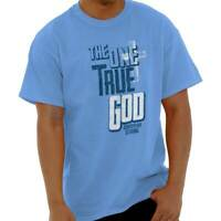 One True God Christian Religious Jesus Christ Short Sleeve T-Shirt Tees Tshirts
