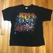 Vintage, Double Sided KISS T-Shirt, Destroyer, 1996, L