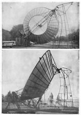 SCIENCE. Sun(Solar)motor; Back & side reflector 1907 old antique print picture