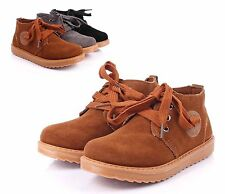 Tan nn New Unisex Lace Up Boys Sneakers Girls Toddler Kids Baby Shoes Size 7